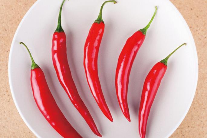 研究發現,辣椒不僅有開胃的功效,還可以幫助身體降溫。(Fotolia)