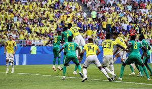 哥倫比亞1:0勝塞內加爾 非洲球隊全軍覆沒