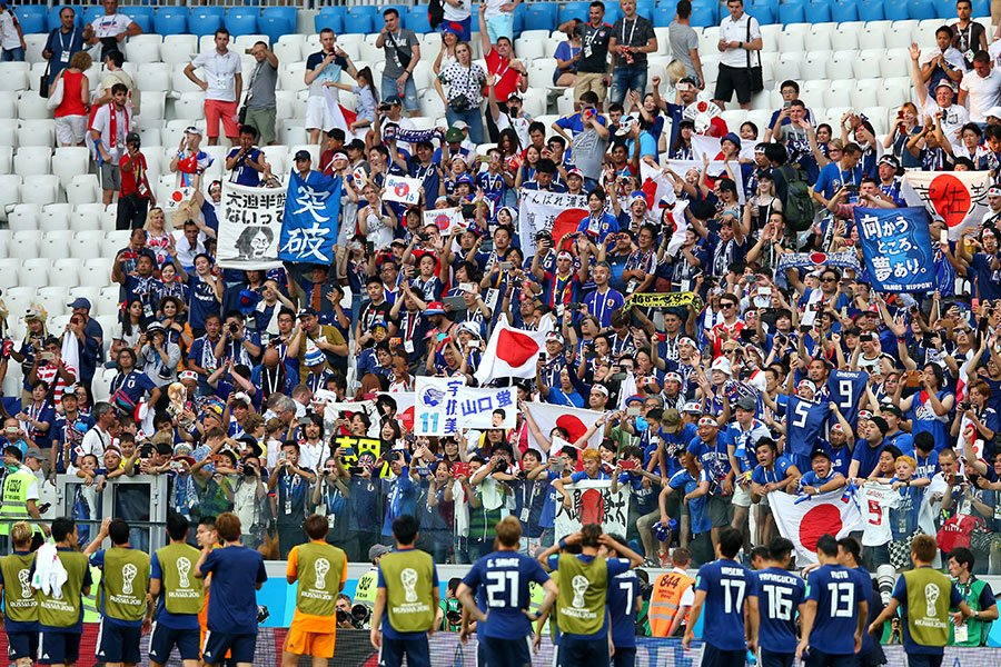 日本隊作為亞洲「獨苗」還能走多遠?(Alex Livesey/Getty Images)