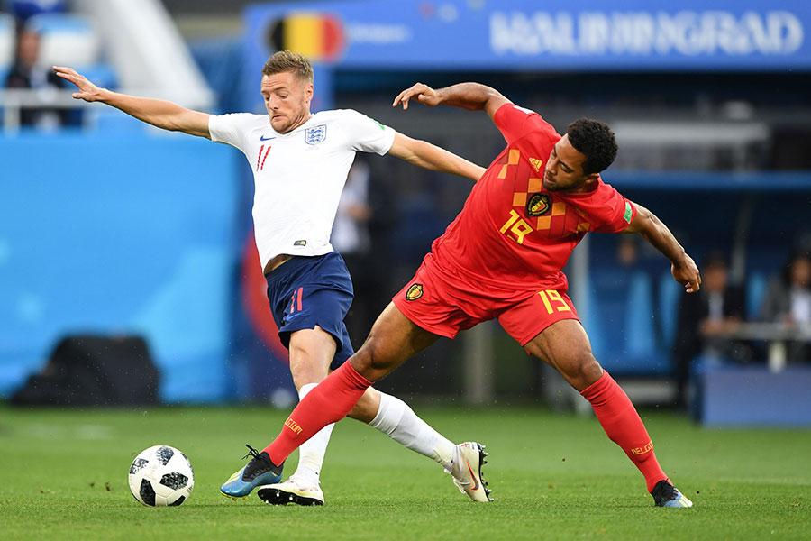 比利時以1:0勝英格蘭,以小組首名出線。(OZAN KOSE/AFP/Getty Images)