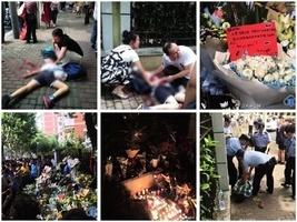 上海小學生被砍案 市民自發悼念 官媒低調