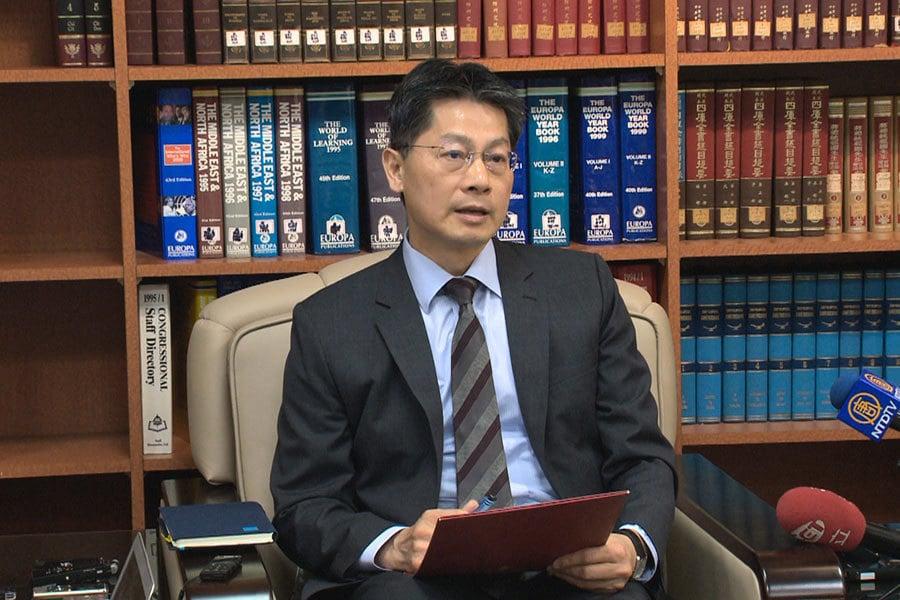 中共抗議日媒專訪台外長 台灣:威脅普世價值