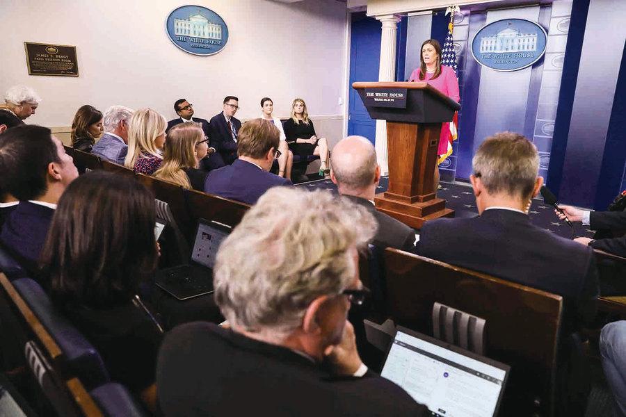 驅趕白宮發言人紅母雞餐廳引眾怒
