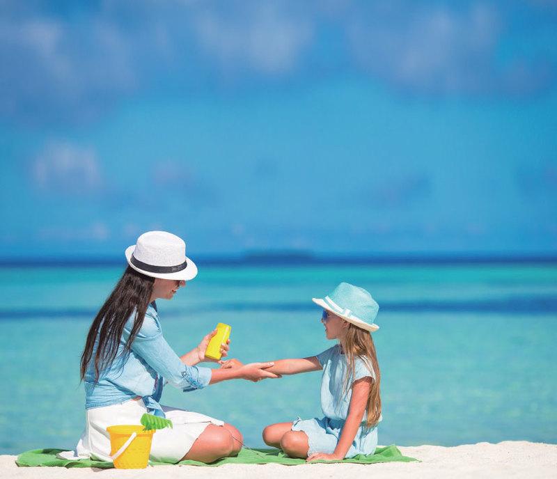 減緩肌膚老化 保養防曬一樣不能少
