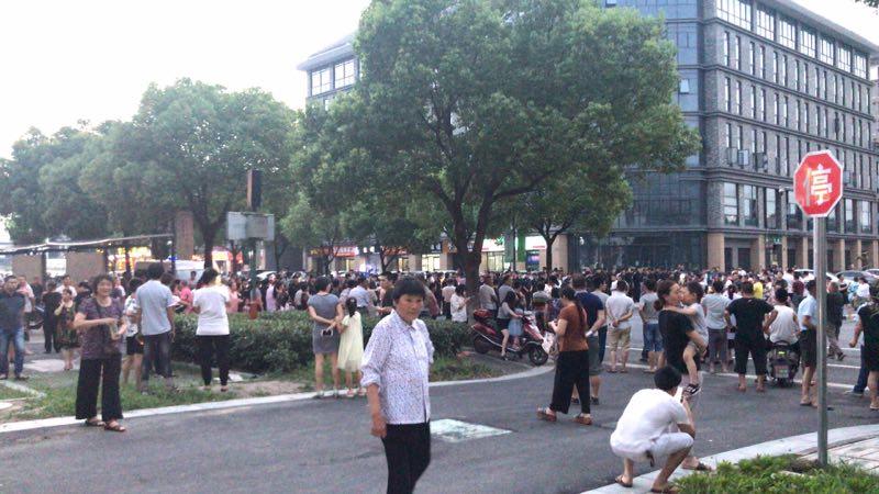 6月30日,浙江嘉興市南湖區七星鎮發生數千村民怒砸鎮政府事件,引起外界關注。(資料圖片)