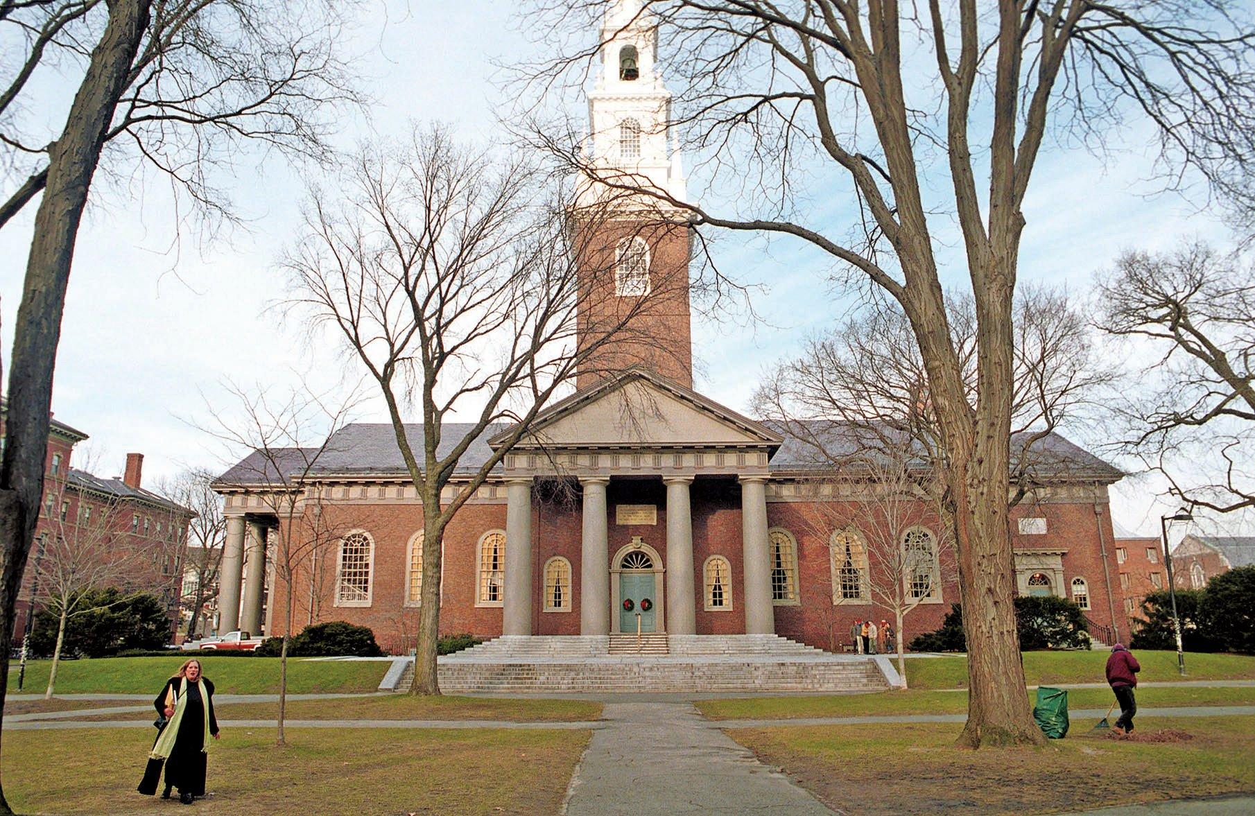7月3日,美國特朗普政府廢除奧巴馬執政時間的一項政策,該政策鼓勵大學在審核入學申請考慮種族因素,以促進校園多元化環境。圖為哈佛大學。(Darren McCollester/Newsmakers)