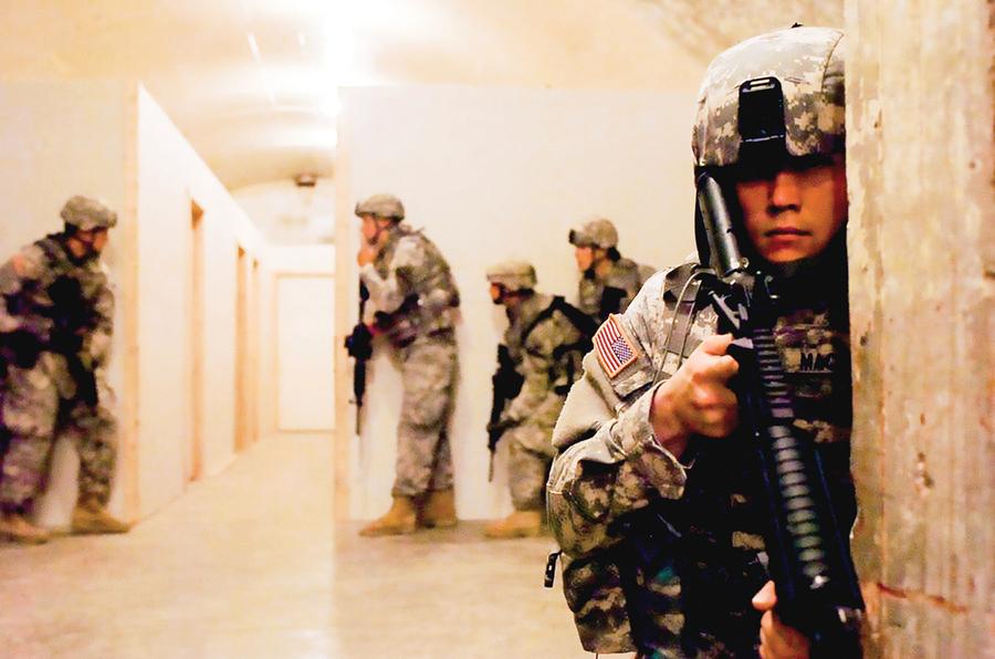 應對中俄朝威脅 美軍訓練地下作戰部隊