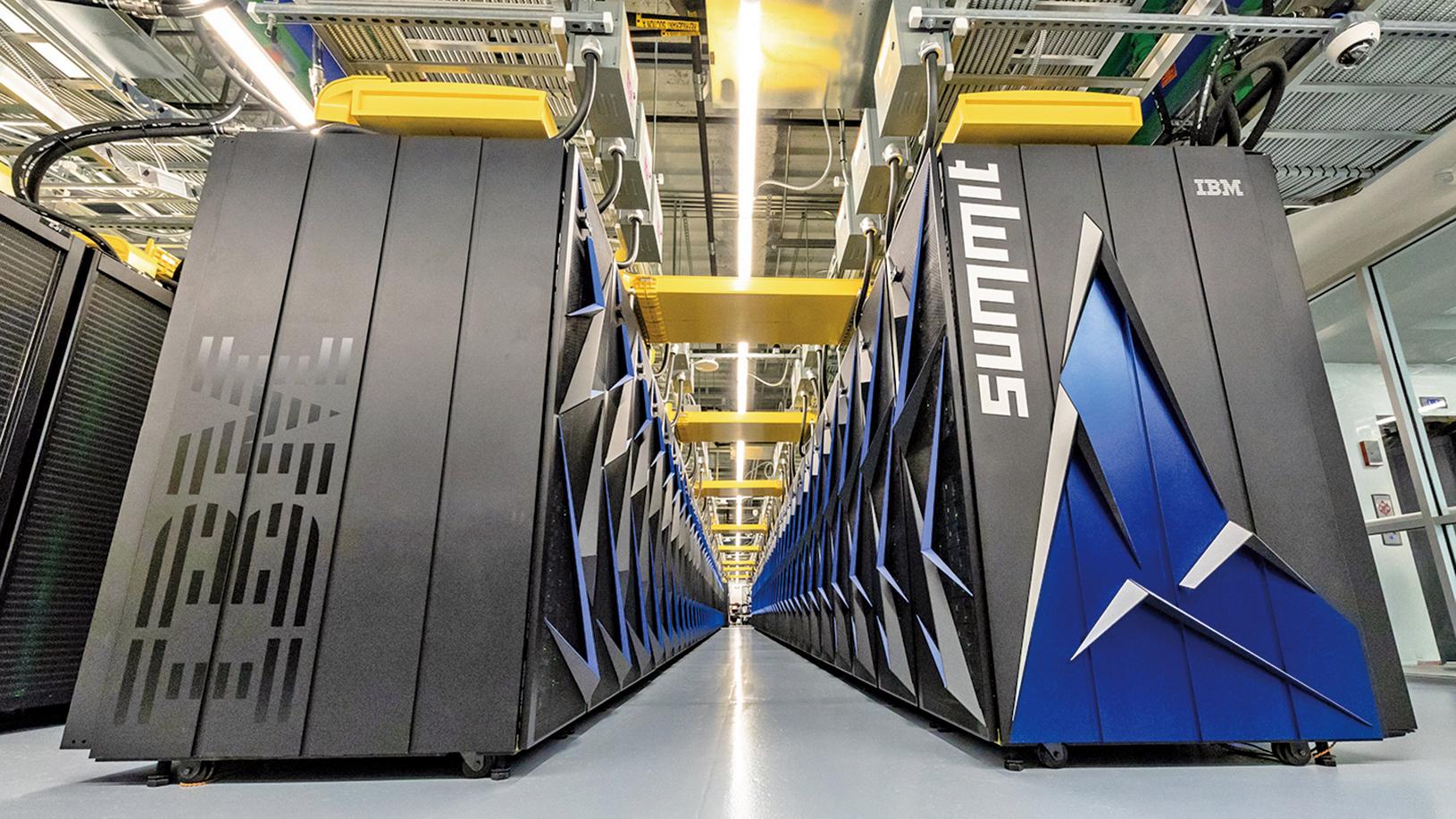 Summit超級電腦耗資2億美元,每秒可運算20億億次,人們原計劃未來20年才可能解決的事情在未來5年就能解決了。(Oak Ridge National Laboratory)