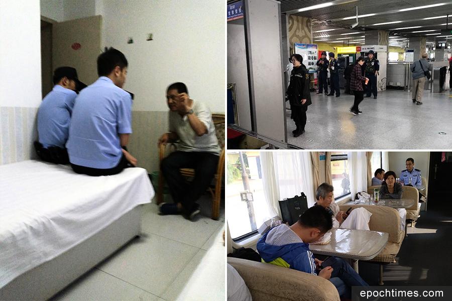 大陸旅館裝人臉辨識系統 訪民旅遊住店被抓
