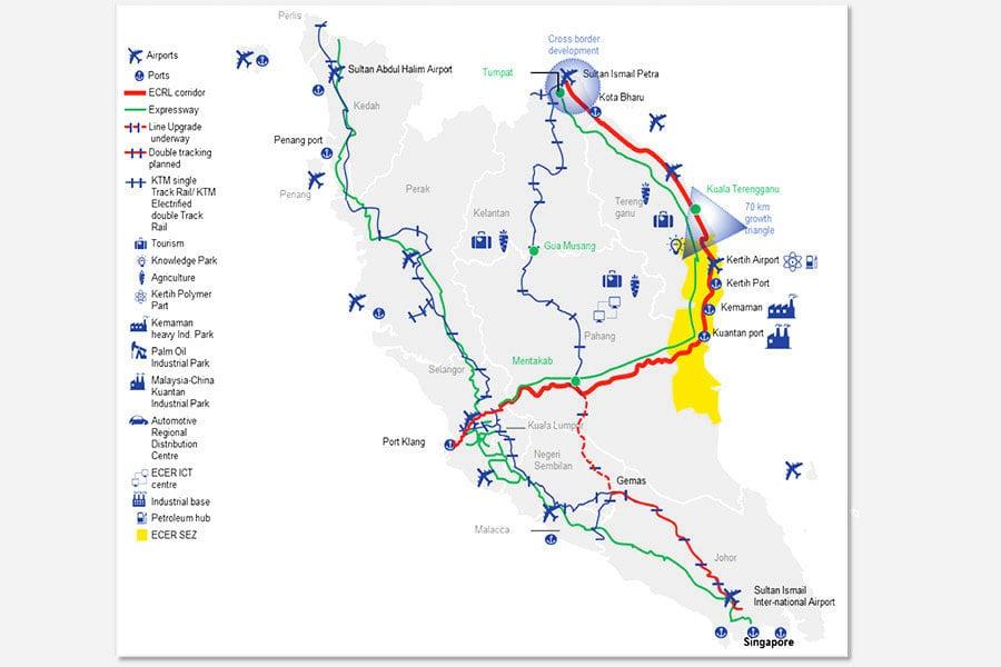 馬來西亞暫停4個中資項目 價值230億美元