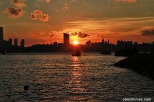 日落鯉魚門 月夜醉浪漫