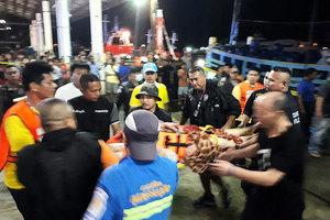 載中國遊客泰國遊船沉沒 遇難人數增至40人