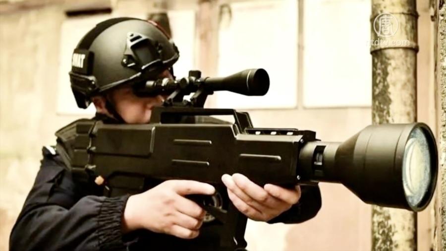 中共激光步槍專對百姓 800米內讓人痛不欲生