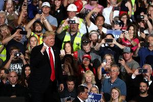 中美貿易戰 美國人支持特朗普:謝謝您挺身而出