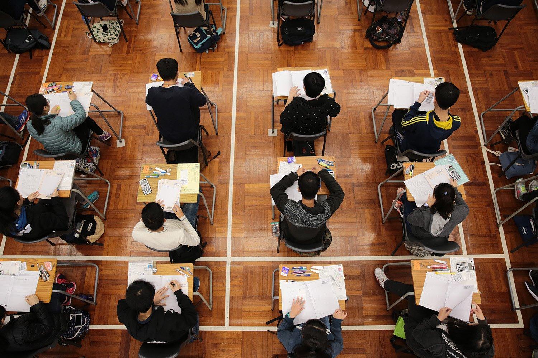 DSE周三放榜,學友社建議,考生應合理評估成績,分別為不同成績的情況,制訂不同方案,並參考個人興趣和特質選擇課程。(考評局提供)