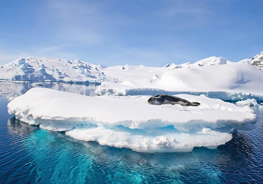 南極冰蓋下發現活火山