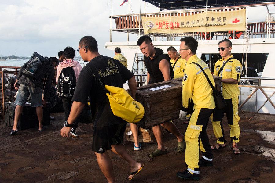 泰國翻船事件 兩船長被控 受害人獲賠
