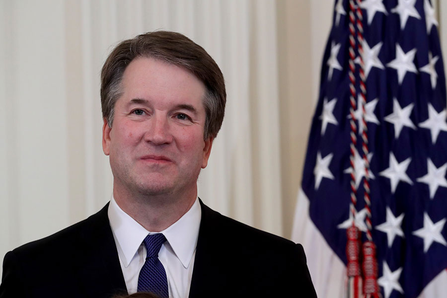 卡瓦諾(Brett Kavanaugh)。(Chip Somodevilla/Getty Images)