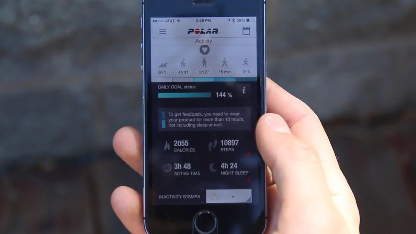 荷蘭安全研究人員近日發現,一款記錄用戶健身數據的手機應用程式(App)Polar,可泄露69個國家的軍事和情報人員的敏感數據。(視像擷圖)