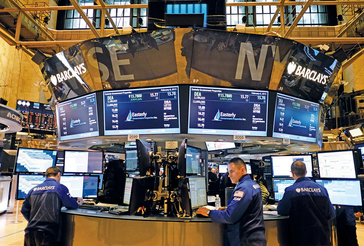 市場人士相信,美國經濟穩定擴張和企業盈利持續增長,都將支持股市保持升勢。圖為紐約證券交易所。(Getty Images)