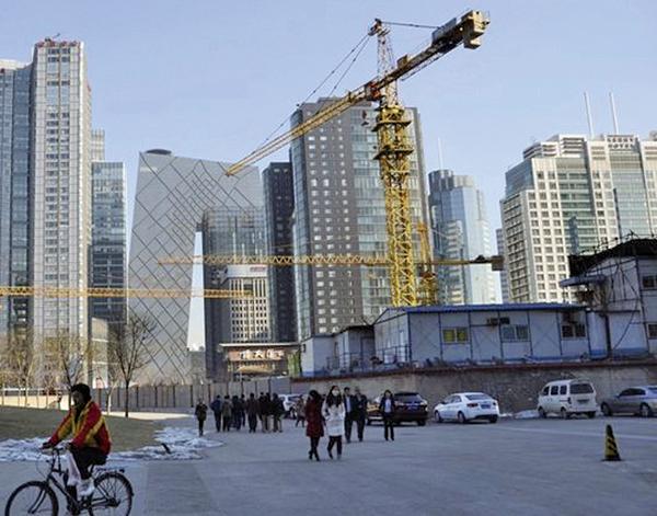 大陸房企今年市值蒸發上萬億。(AFP)