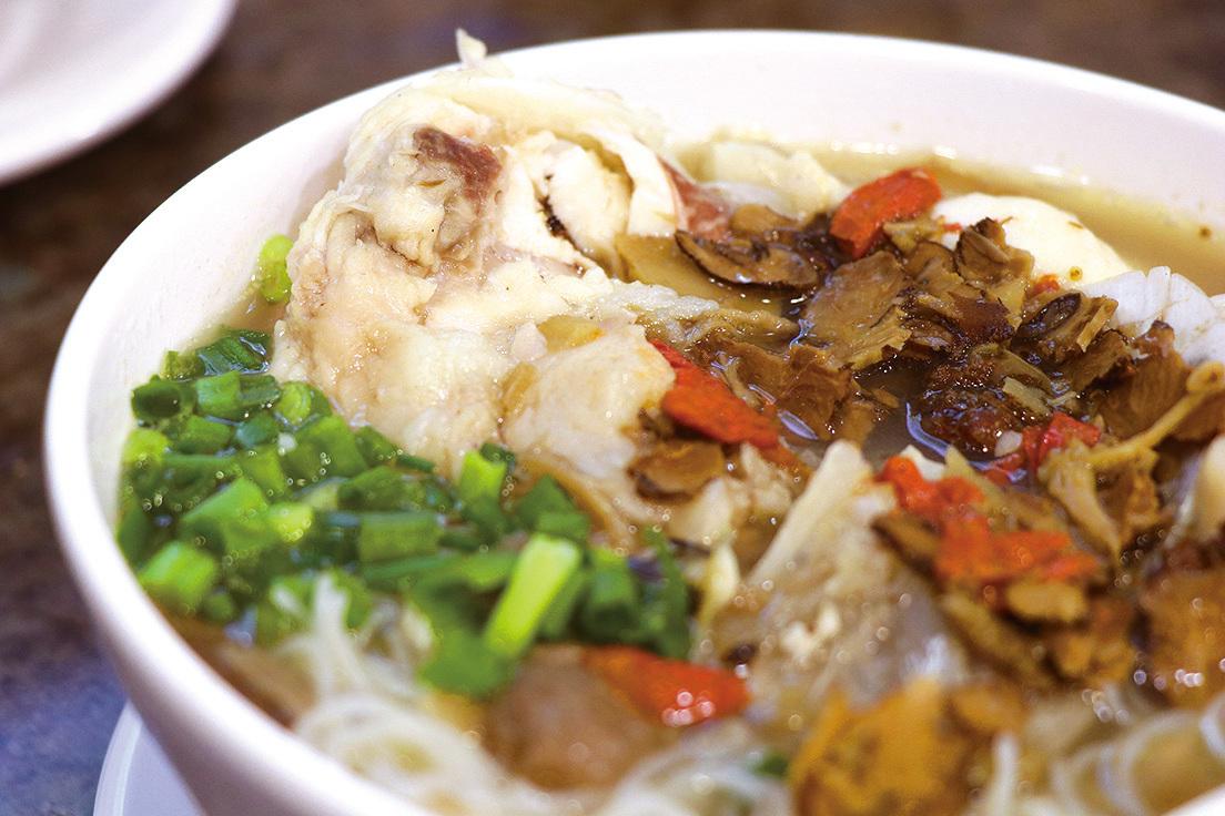 天麻川芎魚頭米
