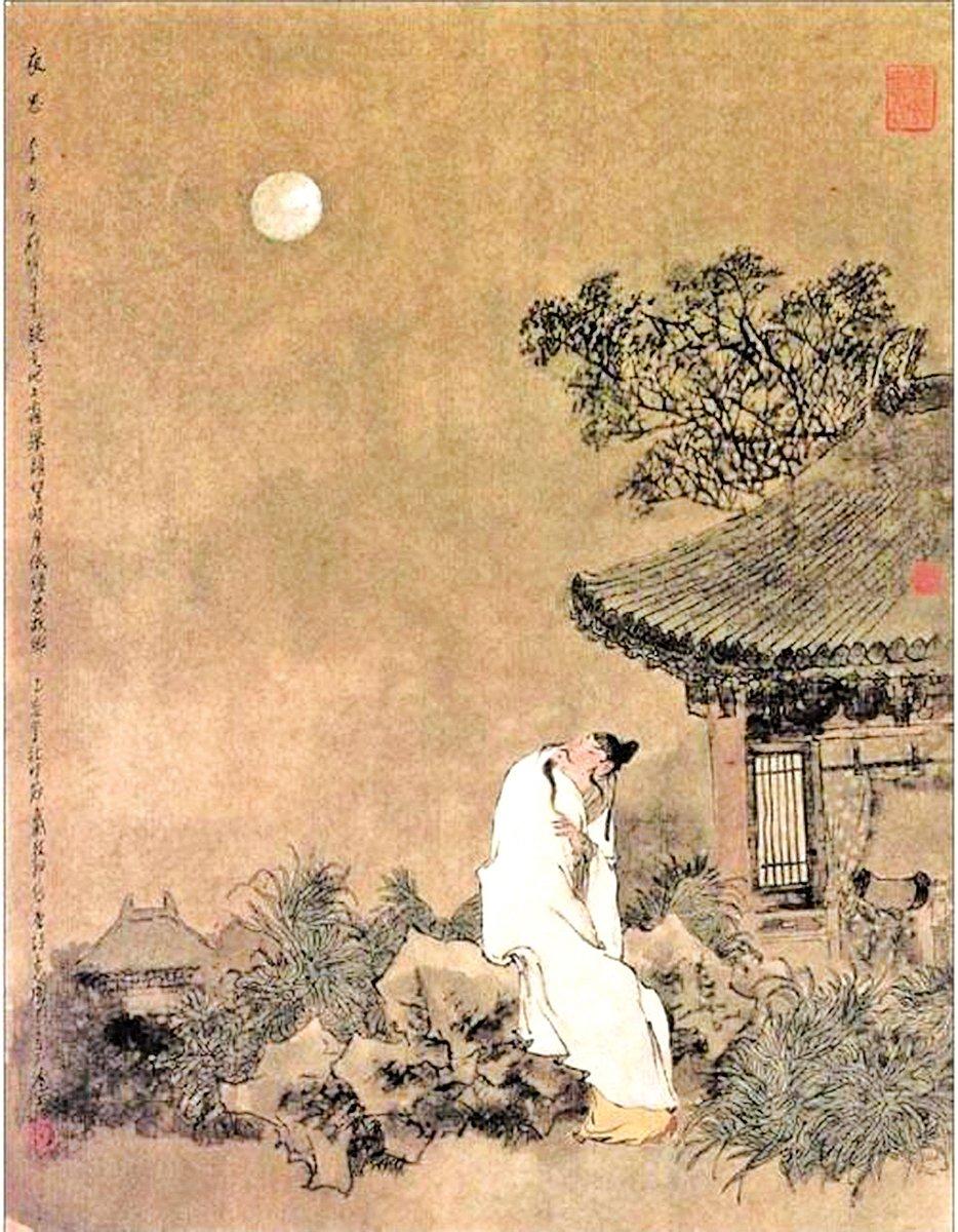 李白名句「床前明月光,疑是地上霜。」被誤解千年(網絡圖片)