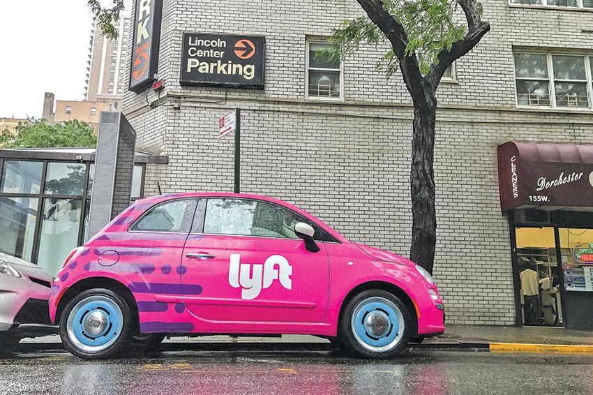 網約車公司Lyft為滿足短程接駁用戶的需求,正積極佈局共享單車市場。(shutterstock)