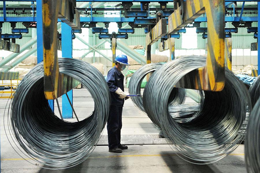 中美貿易戰在7月6日打響,當天中共商務部表示,特朗普總統發起了「經濟史上最大規模的貿易戰」。專家說,這個說法是誇大其詞。(AFP/Getty Images)