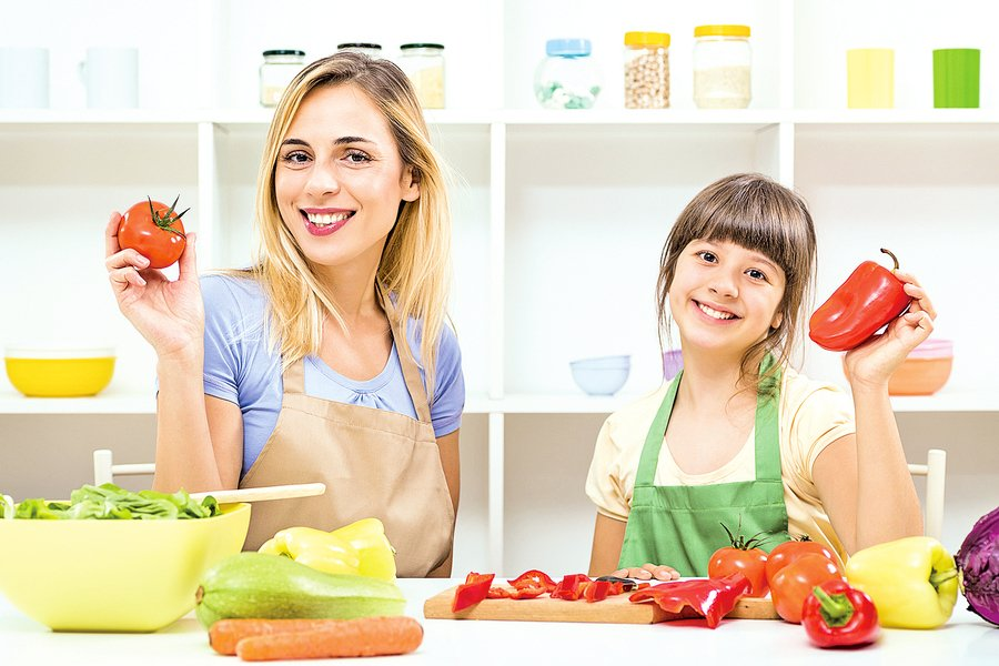吃不同顏色蔬果獲取不同營養