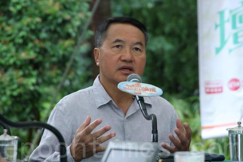 土地監察主席李永達則擔心若將居屋與私人市場完全切割,將影響居屋流轉。(蔡雯文/大紀元)