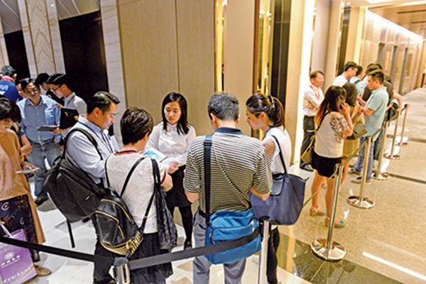 新地大埔雲滙2期昨日加推價單第3號共68伙。(宋碧龍/大紀元)