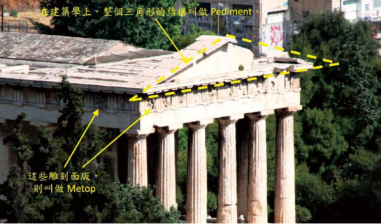 希臘宙斯神殿。