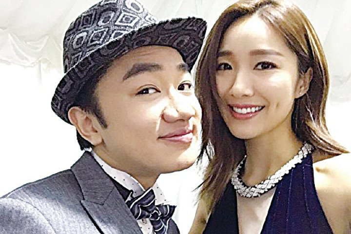 王祖藍和李亞男夫婦資料照。(李亞男微博)