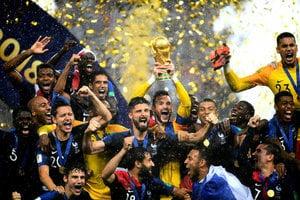 法國4:2勝克羅地亞 時隔20年再舉大力神盃