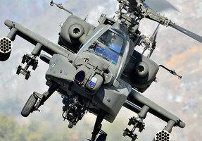 台灣17日將裝備美國「阿帕奇」武裝直昇機