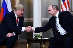 與普京在芬蘭會晤 特朗普:非常好的開端