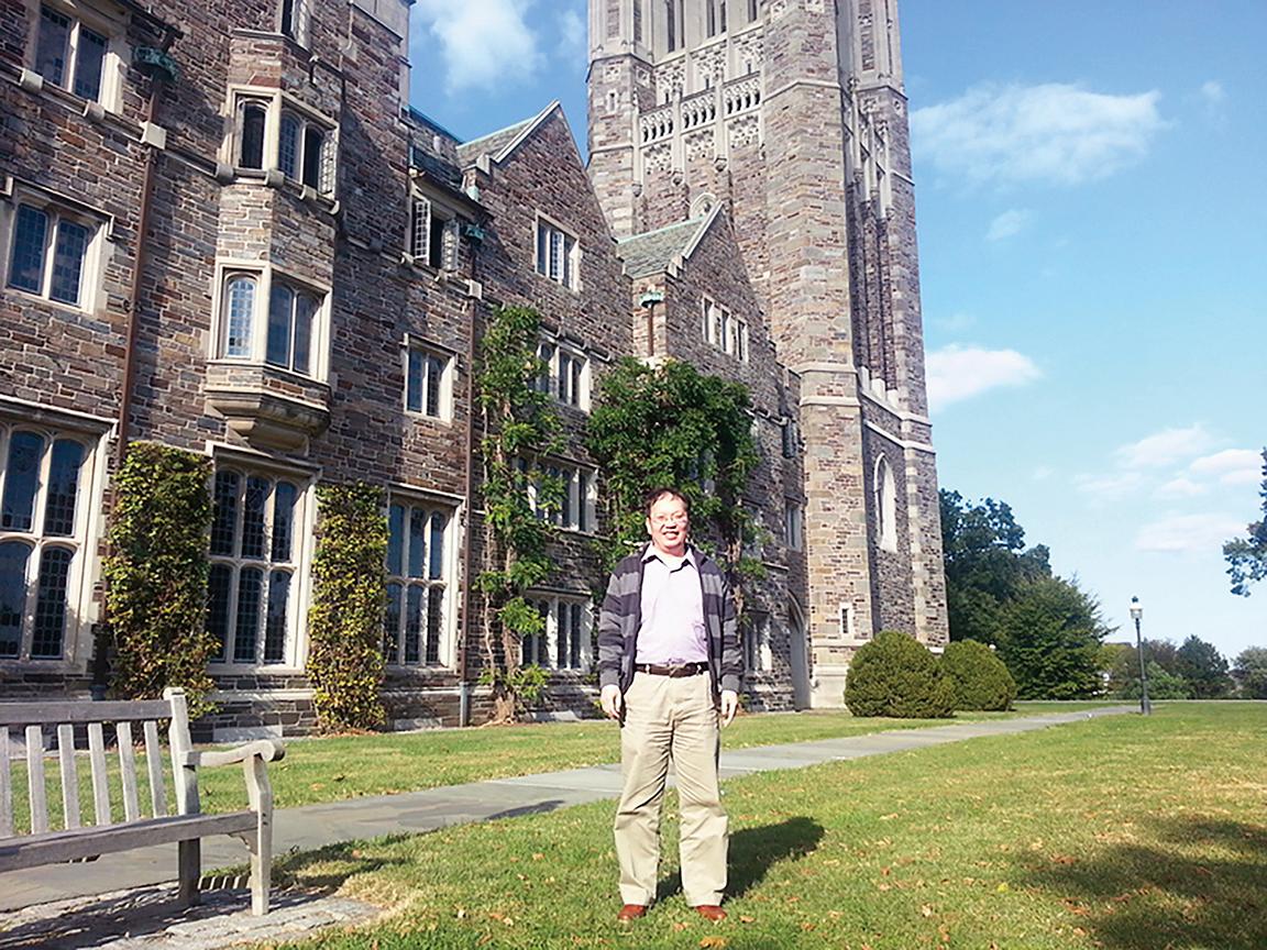 畢業於普林斯頓大學的李淵博士。(李淵提供)