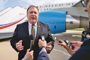 蓬佩奧警告北韓:美國的忍耐力是有限的