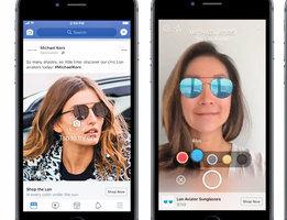 Facebook開始在新聞推送中測試AR廣告