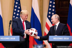 特朗普會普京 美俄若合作 中共陷五大困境