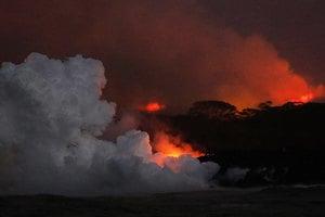夏威夷火山熔岩「炸彈」襲遊船 23人傷