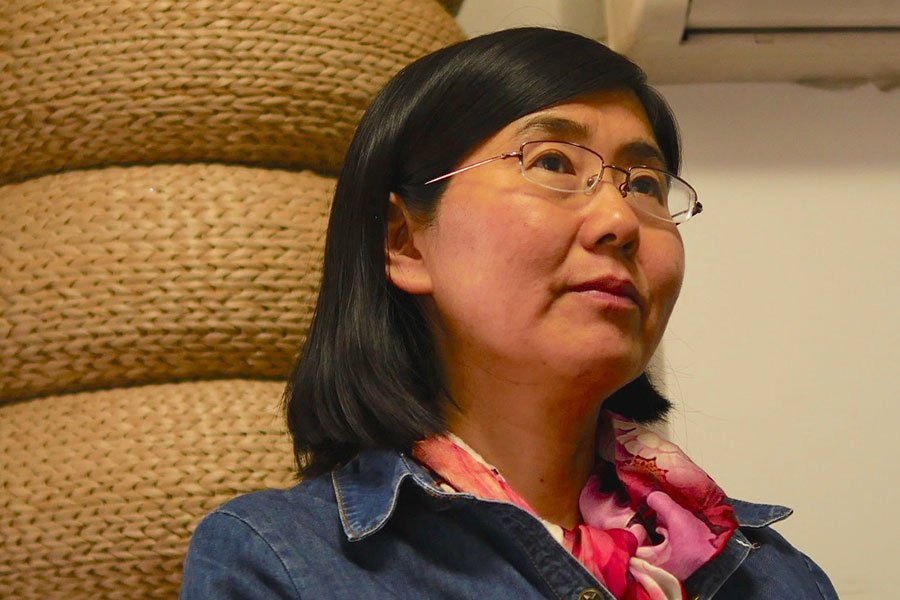 被稱作「中國最勇敢的女律師」的王宇,自己和家庭都歷經中共的迫害和株連。(大紀元)