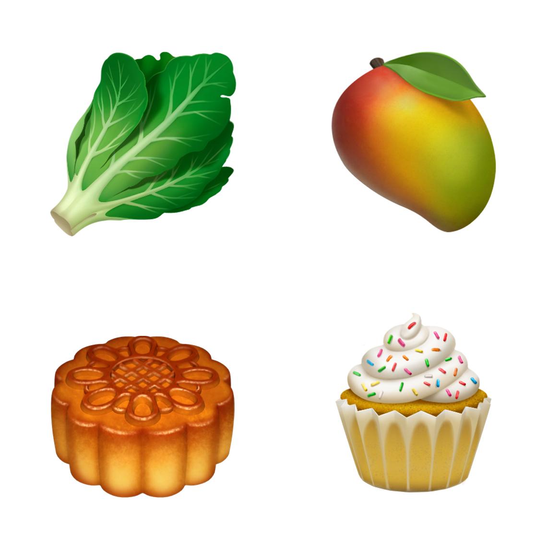 7月16日,蘋果公司(Apple)宣佈,今年稍後,用戶可使用超過70個全新表情符號圖案。(蘋果官網)