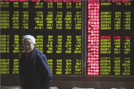 方星海表示,習近平對股市的發展提出明確指示,要充份發揮市場機制調節作用。(AFP)