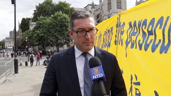 英國保守黨人權委員會副主席遭中共威脅