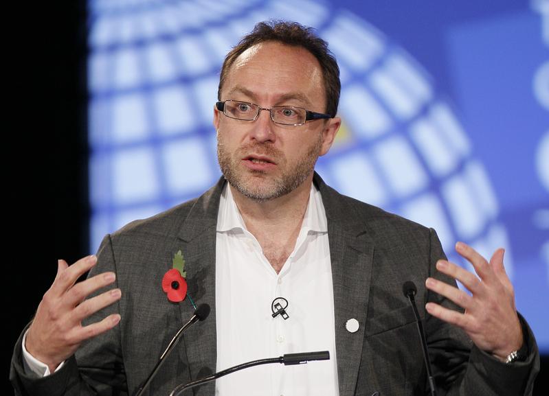 維基百科創辦人威爾斯(Jimmy Wales)強調,不會為了進入中國市場而放棄堅持的原則。(KIRSTY WIGGLESWORTH/AFP)
