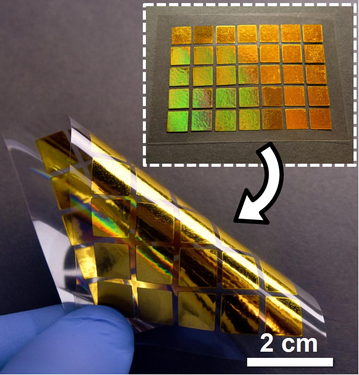 這項技術可以使印出來的電子元件更光滑和更有彈性,進而使電流走得更順暢。(Purdue University)