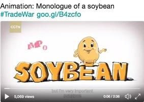 「你好,我是大豆」中共擬用卡通豆滲透美國