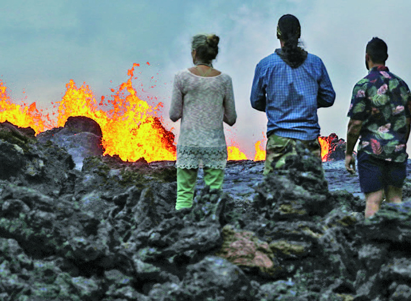 遭熔岩襲擊後 夏威夷觀光船將續賞火山熔岩